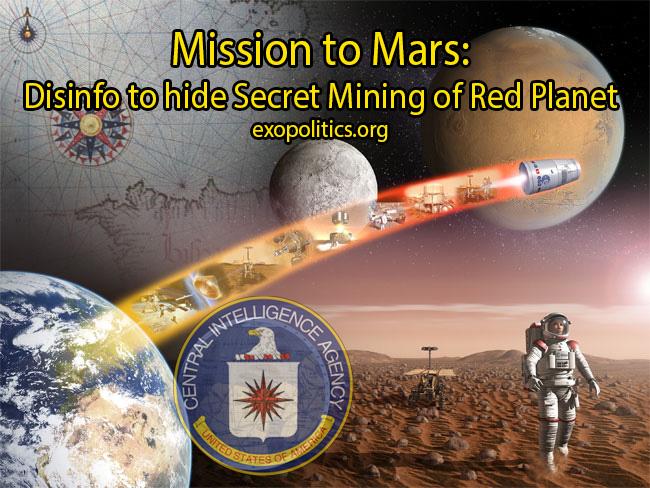 Mining on Mars