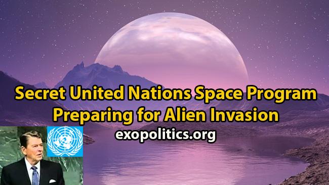 UN Space Program and alien threat