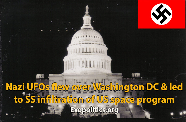 Nazi UFOs over congress