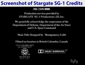 USAF & Space Command cooperated with Stargate SG-1 producers