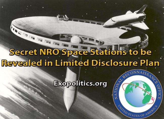 NRO secret space stations