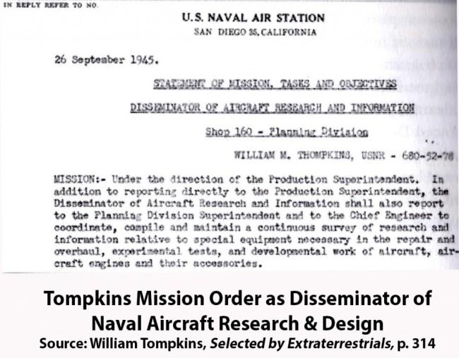Bill Tompkins - Mission Orders