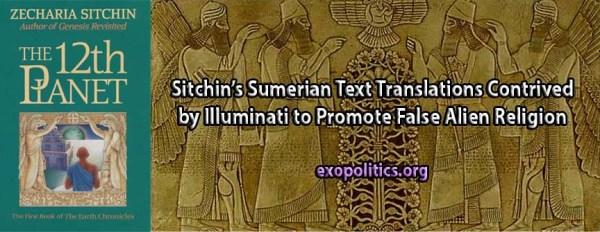 Zecharia Sitchin 187 Exopolitics
