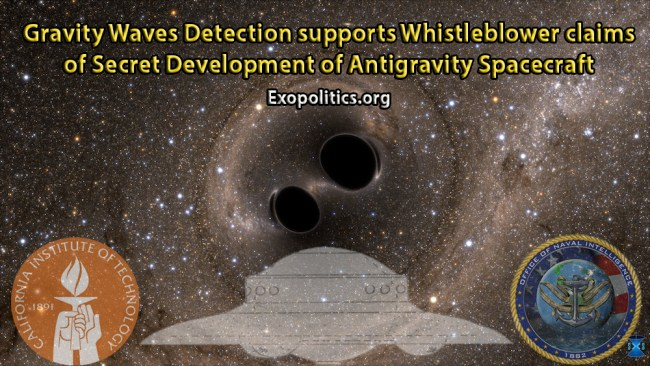 gravity waves and antigravity spacecraft
