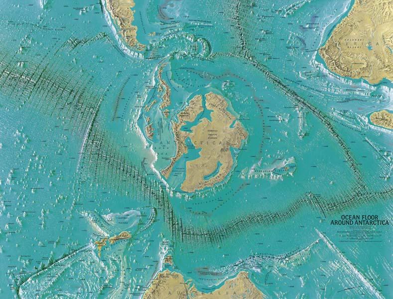 ice free antarctica