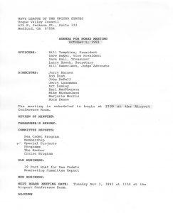 Réunion du Conseil de la Ligue navale (2)