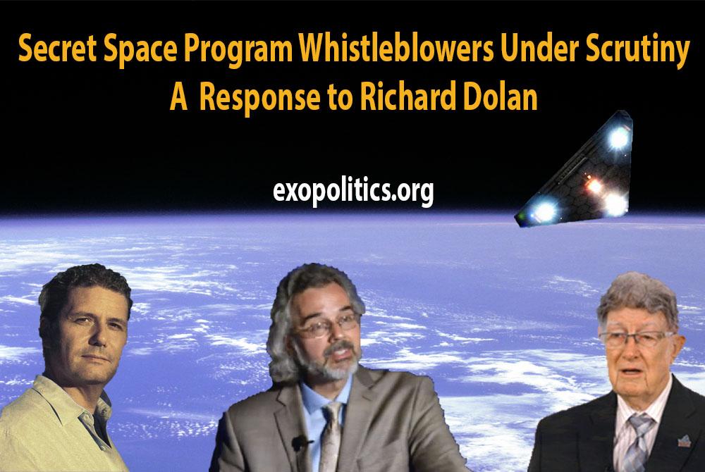 Secret Space Program Whistleblowers Under Scrutiny – Response to Richard Dolan