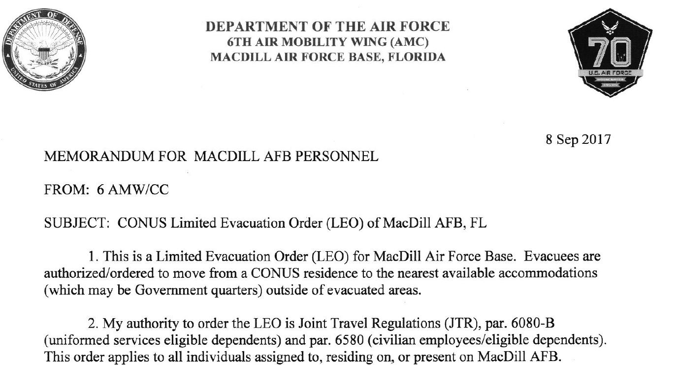 More Triangle UFO Sightings as MacDill AFB is Evacuated due