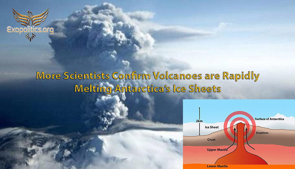 More Scientists Confirm Volcanoes Rapidly Melting Antarctica's Ice Sheets »  Exopolitics