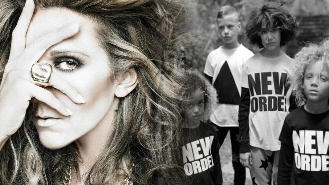 a04689fee9532 Céline Dion est le visage d une nouvelle marque de mode «Pro Gender» pour  bébés nommée «CELINUNUNU». Tout à ce sujet est tordu et flippant.