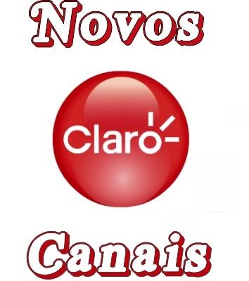 Resultado de imagem para NOVOS CANAIS CLAROTV