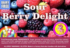 Sour Berry Delight