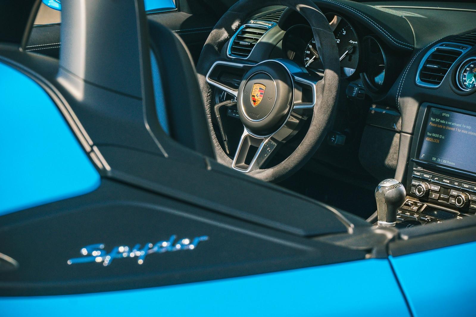2016 Porsche 981 Boxster SpyderSOLD Exotic Car Search