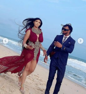 Angela Okorie and Desmond Michael | www.exoticempireng.com.ng