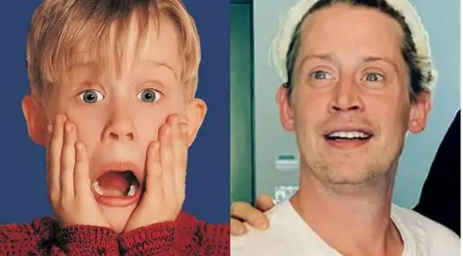 See Photos Of Home Alone Child Actor,Macaulay Culkin,he's 40 now