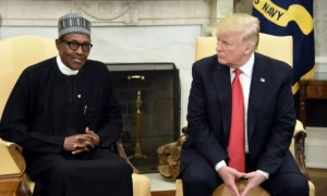 President Buhari and Donald Trump