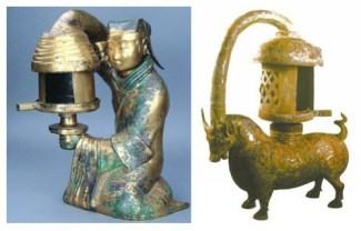 Bronze Lamp, Han Dynasty