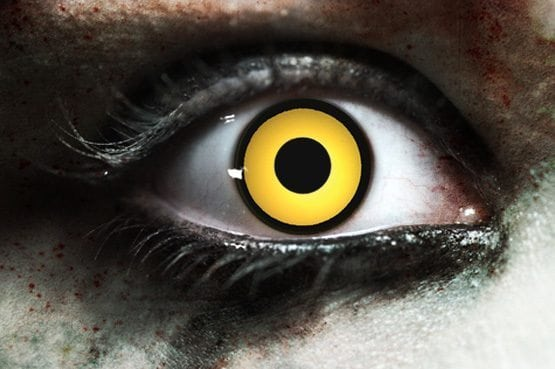 Crow Gothika Contact Lenses