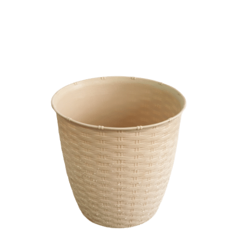 Plastic Pot beige