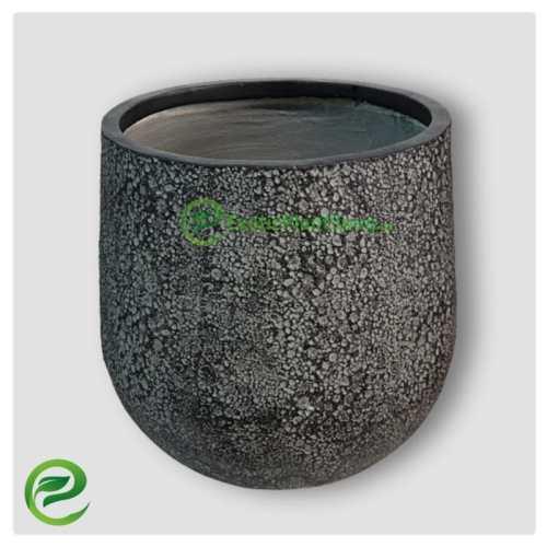 Fiber Clay Flower Planter - exoticplantsoua.ae