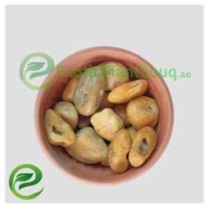 Yellow Semi-polished Stone Pebbles 3-5cm