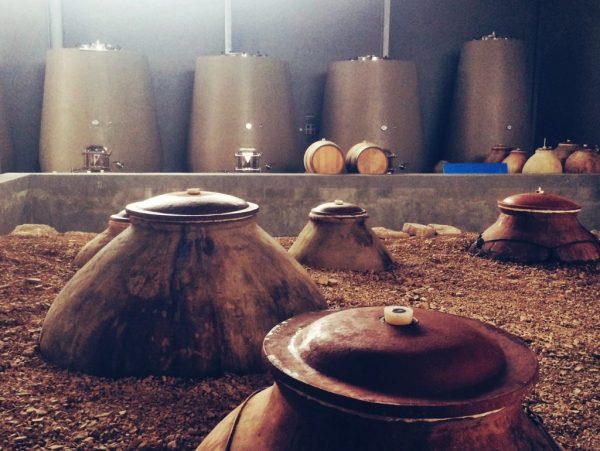 zorah wines zorah karasi amphora in winery armenian wines