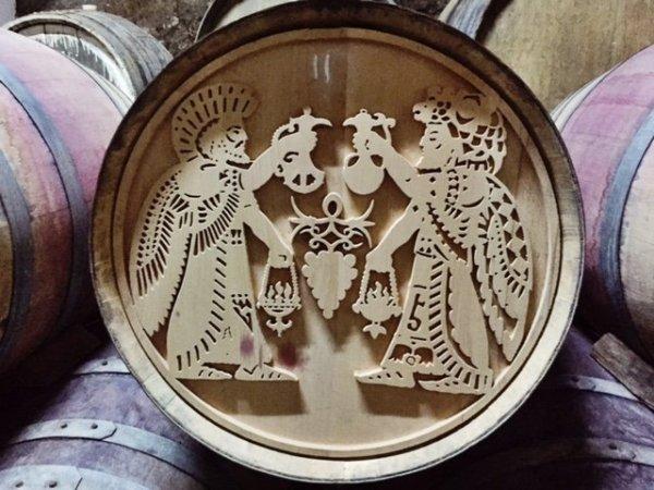 voskevaz barrel art