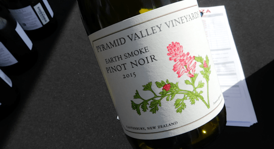 Pyramid Valley Vineyards Earth Smoke Pinot Noir