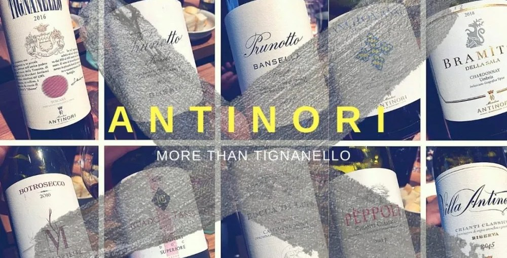 antinori wines more than tignanello