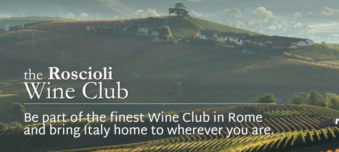 Roscioli Italian Wine Club