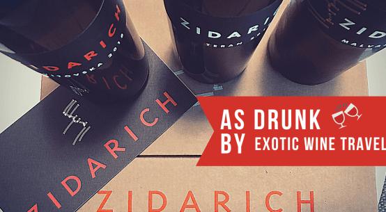 Zidarich Italian wine carso