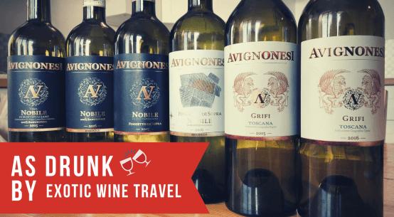 avignonesi tuscany wine sangiovese