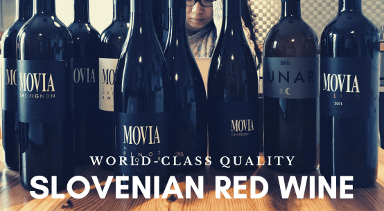 Slovenian red wine