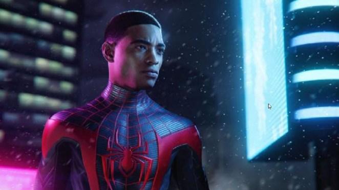 Spiderman - Miles Morales, game PS5.