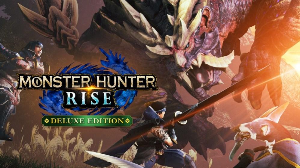 monster hunter rise, salah satu game yang rilis pada maret