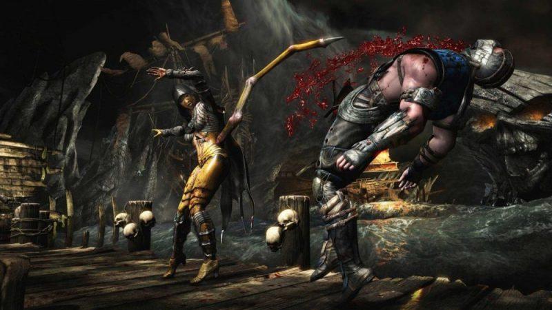 Mortal Kombat, game favorit Vincenzo.