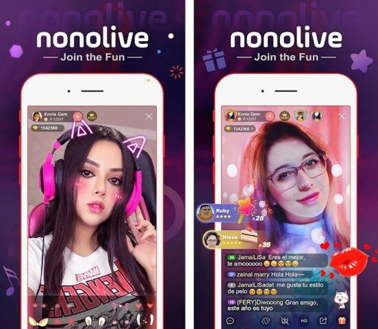 Nonolive aplikasi streaming