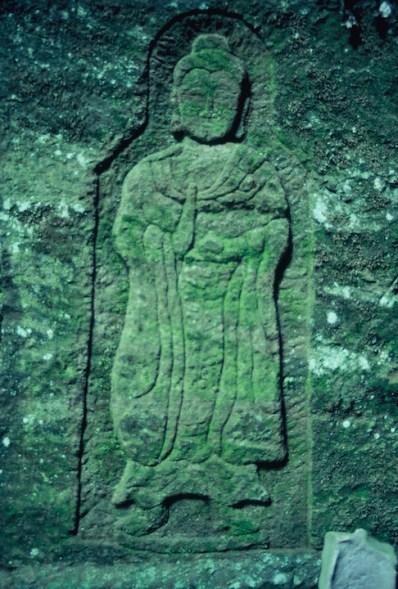 Ancient Buddhist engraving