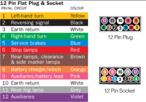 Electrical  12 Pin plug query | Expandas Downunder