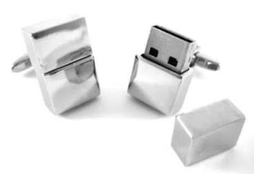 4GB CuffLinks USB Flash Drive