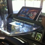 Treadmill iPad Holder