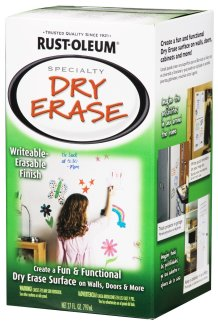 White Dry Erase Wall Paint