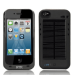 Solar Powered Battery Charger iPhone Case