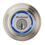 Kwikset Bluetooth Enabled Deadbolt Door Lock