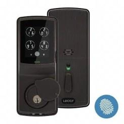Lockly Fingerprint Bluetooth Keyless Entry Door Smart Lock