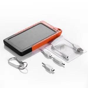 Portable Solar Power USB Charger Power Bank