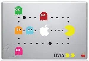 Pac Man Macbook Decal
