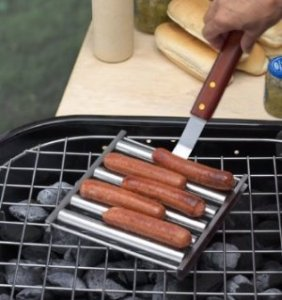 Barbecue Hot Dog Roller