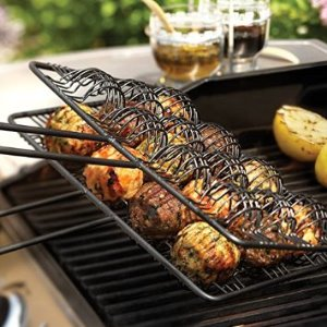 Nonstick Meatball Grilling Basket