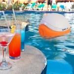 outdoor gadgets Waterproof Bluetooth Swimming Pool Floating Speaker